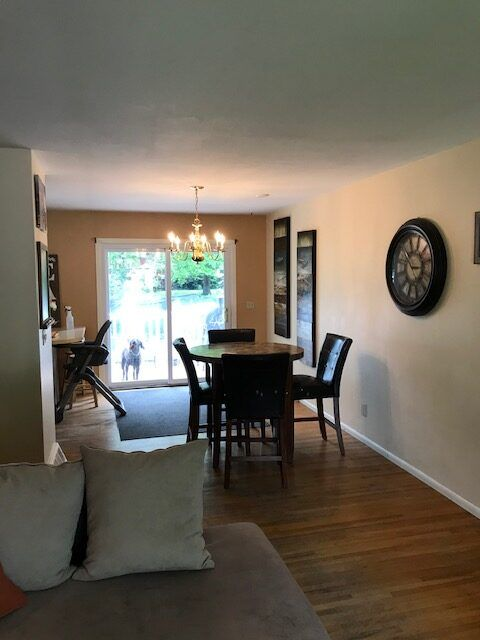 Living Room Dining Area to Deck